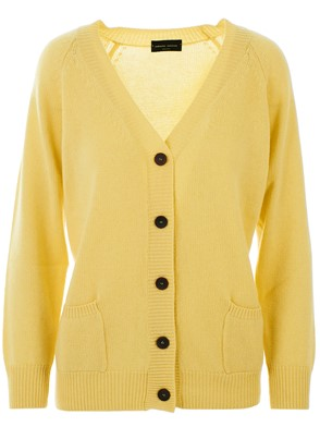 ROBERTO COLLINA - YELLOW CARDIGAN