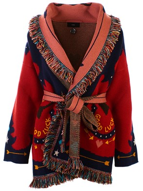 ALANUI - RED CARDIGAN