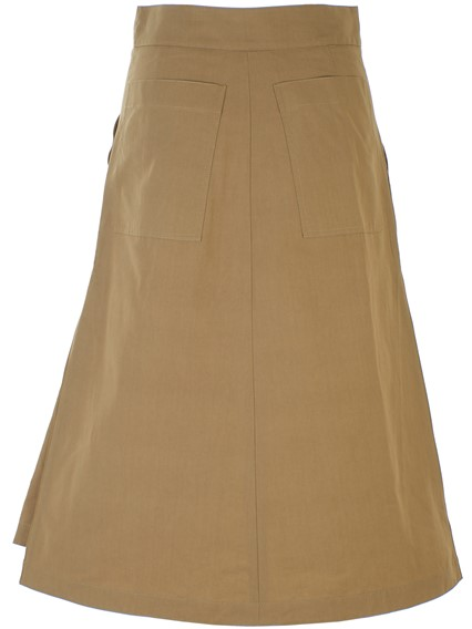 BURBERRY BEIGE LAGAN SKIRT