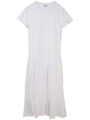 REDVALENTINO - LONG WHITE DRESS