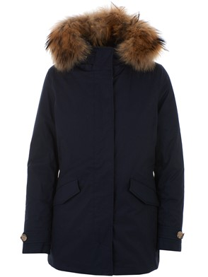 WOOLRICH - BLUE ARTIC PARKA