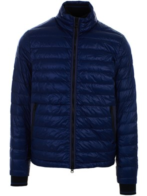 WOOLRICH - BLUE BERING DOWN JACKET