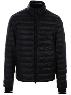 WOOLRICH - BLACK BERING DOWN JACKET