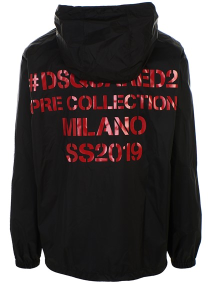 DSQUARED2 GIACCA NERA