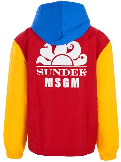 MSGM MULTICOLOR JACKET