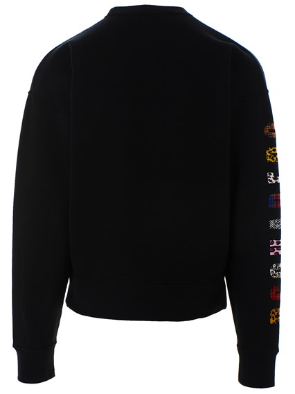 DSQUARED2 BLACK SWEATSHIRT