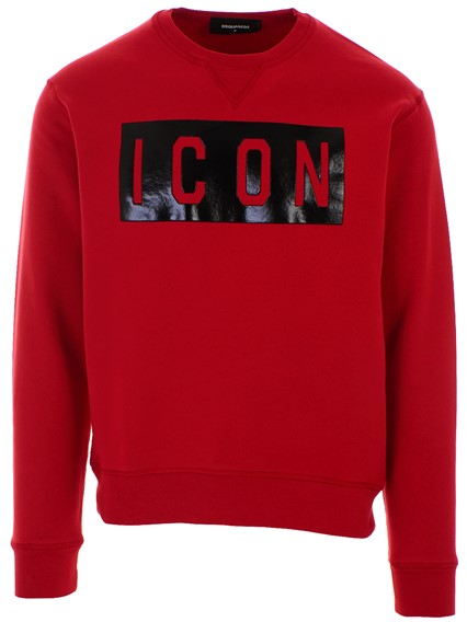 DSQUARED2 RED SWEATSHIRT