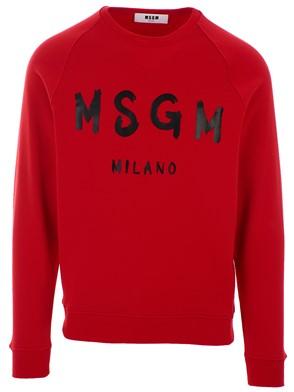 MSGM - RED SWEATSHIRT