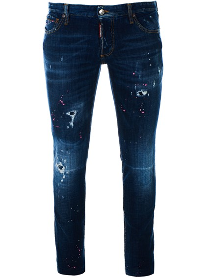 DSQUARED2 JEANS SLIM BLU