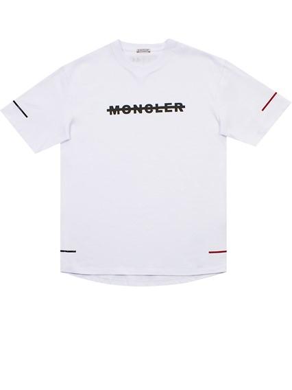 MONCLER T-SHIRT BIANCA