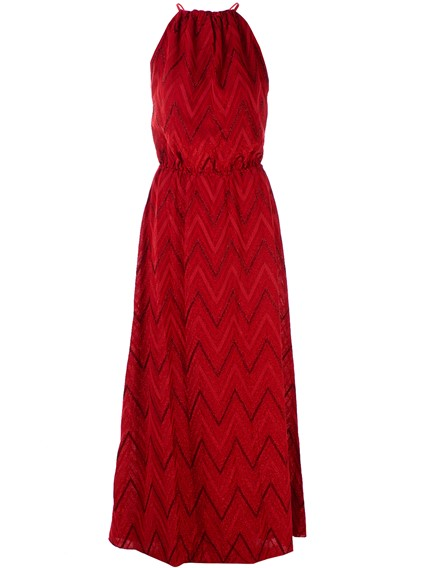 M MISSONI RED DRESS