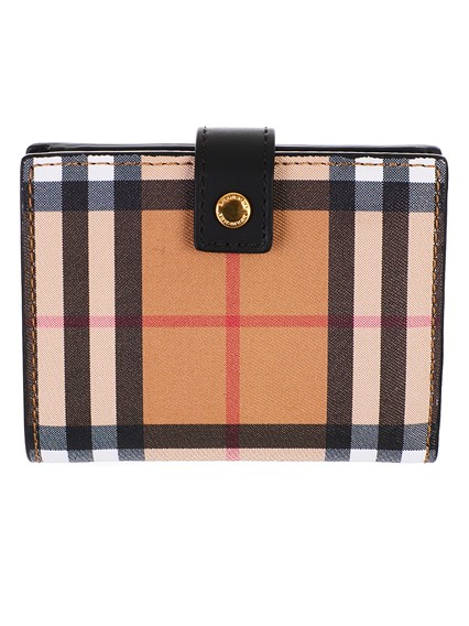 BURBERRY BROWN LAKESIDE WALLET