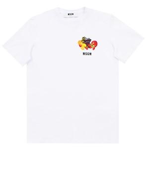 MSGM - WHITE T-SHIRT