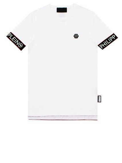 21fdf470cff philipp plein WHITE SS STATEMENT T-SHIRT available on lungolivigno ...