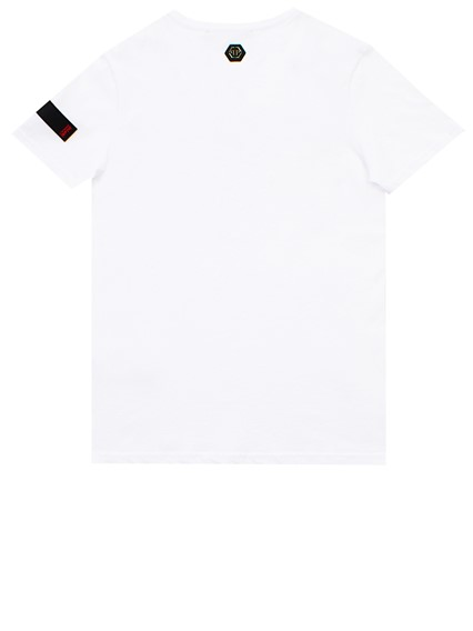 628029b6cd WHITE PLATINUM CUT T-SHIRT