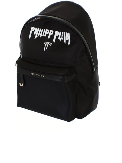 PHILIPP PLEIN BLACK BACKPACK
