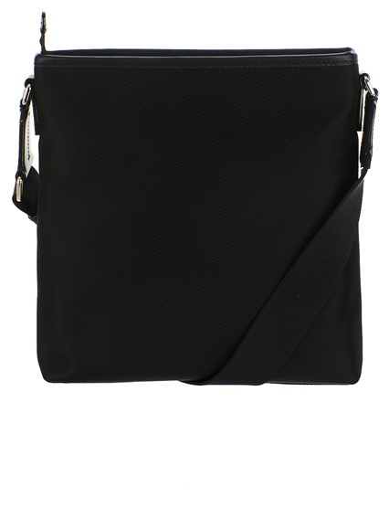 BALLY BLACK CARRYOVER FLAT BAG