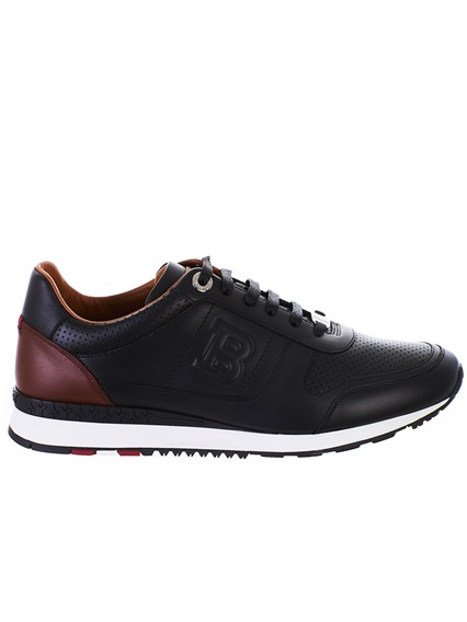 BALLY BLACK SNEAKERS
