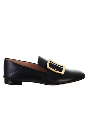 BALLY - BLACK JANELLE LOAFERS