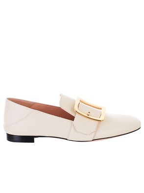 BALLY - WHITE JANELLE LOAFERS