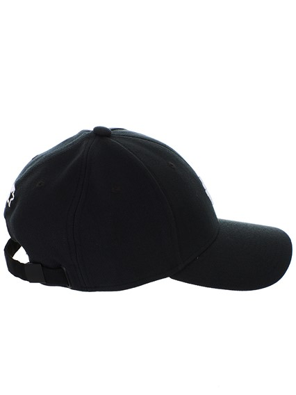 MARCELO BURLON COUNTY OF MILAN BLACK STARTER CROSS HAT