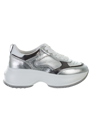 HOGAN - SILVER AND WHITEMAXI  SNEAKERS