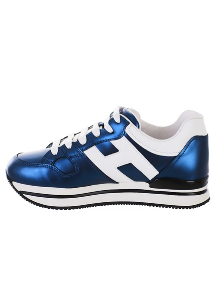 HOGAN BLUE AND WHITE SNEAKERS