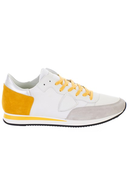 PHILIPPE MODEL WHITE TROPEZ SNEAKERS