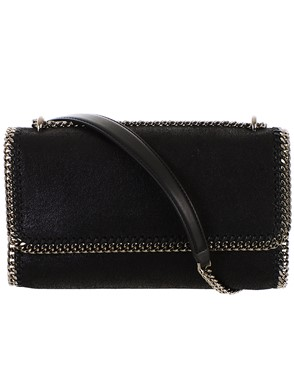 STELLA MC CARTNEY - BORSA FALABELLA NERA