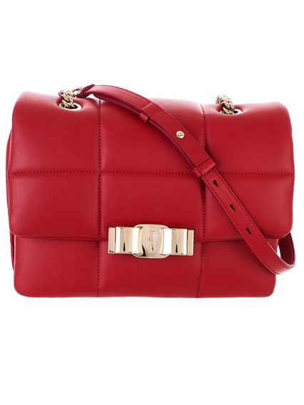 SALVATORE FERRAGAMO RED BAG
