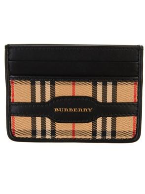 BURBERRY - BLACK WALLET