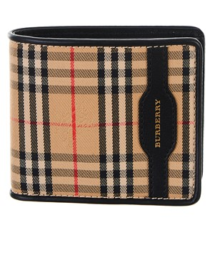 BURBERRY - BLACK WALLET