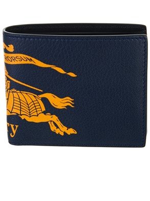 BURBERRY - GREEN AND BLUE WALLET