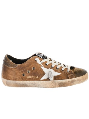 GOLDEN GOOSE DELUXE BRAND - SNEAKER SUPERSTAR MARRONE