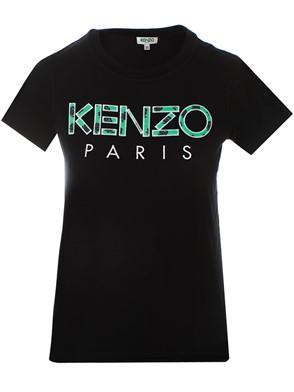 KENZO - BLACK LOGO M/C T-SHIRT