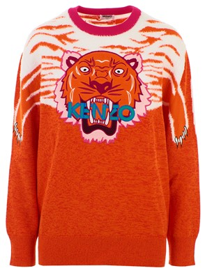 KENZO - ORANGE TIGER SWEATSHIRT