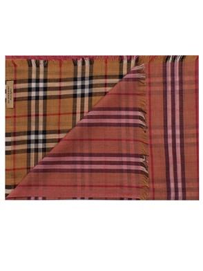 BURBERRY - PINK SCARF