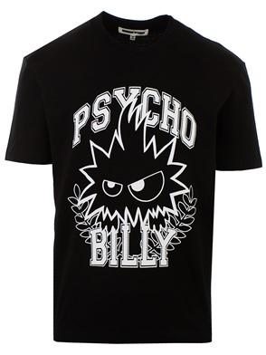 McQ ALEXANDER MCQUEEN - BLACK M/C PSYCO T-SHIRT