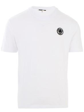 McQ ALEXANDER MCQUEEN - WHITE LOGO M/C T-SHIRT