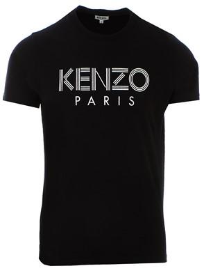 KENZO - T-SHIRT M/C BASIC LOGO NERA