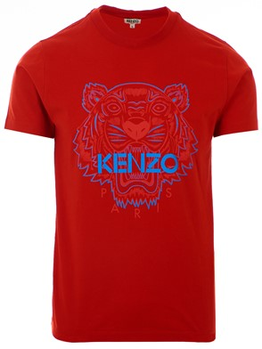 KENZO - RED TIGER T-SHIRT