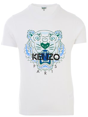 KENZO - T-SHIRT CLASSIC TIGRE BIANCA
