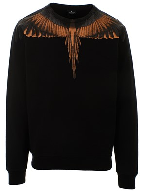 MARCELO BURLON COUNTY OF MILAN - FELPA WINGS NERA