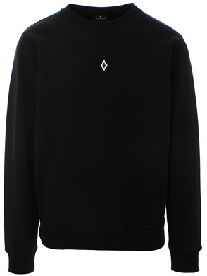 MARCELO BURLON COUNTY OF MILAN - BLACK HEART WINGS SWEATSHIRT