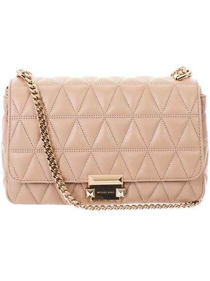 1c13f25a917 michael michael kors BEIGE SLOAN LG BAG available on lungolivigno ...