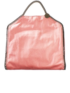 STELLA MC CARTNEY - BORSA FALABELLA TRE CATENE ROSA