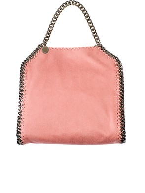 STELLA MC CARTNEY - BORSA TINY FALABELLA ROSA
