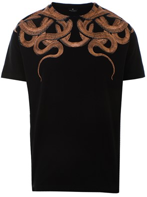 MARCELO BURLON COUNTY OF MILAN - BLACK SNAKES T-SHIRT