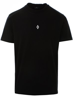 MARCELO BURLON COUNTY OF MILAN - BLACK HEART WINGS T-SHIRT