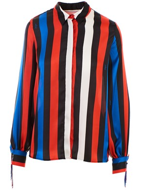 MSGM - MULTICOLOR STRIPED SHIRT